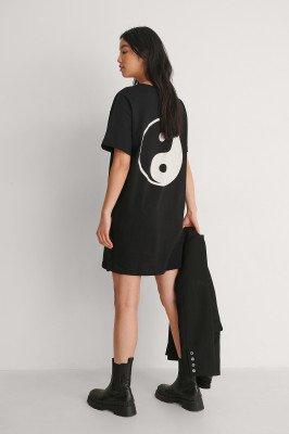 Trendyol Trendyol T-Shirt Met Logo - Black