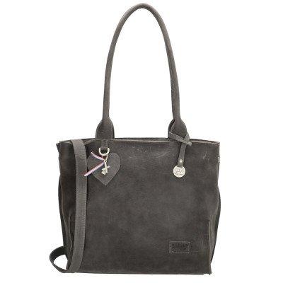 SoDutch SoDutch Bags Shopper #10 Donker Grijs