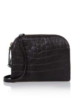 O My Bag O My Bag Emily crossbodytas van leer met croco structuur