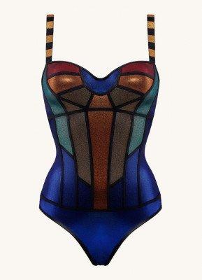 marlies | dekkers marlies | dekkers The Rainbow Scarab body met metallic finish