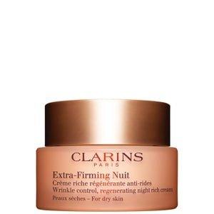 Clarins Clarins Eextra Firming Nuit Clarins - Eextra Firming Nuit Wrinkle Control Regenerating Night Rich Cream - Droge Huid - 50 ML