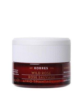 Korres Korres - Wild Rose Brightening & First Wrinkles Day Cream - Dry Skin - 40 ml