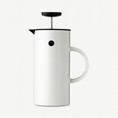 MADE.COM Stelton EM77 French Press cafetiere, wit