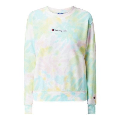 Champion Custom fit sweatshirt in batiklook