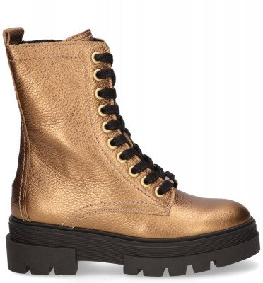 Tommy Hilfiger Tommy Hilfiger FW0FW05245 Goud Dames Veterboots