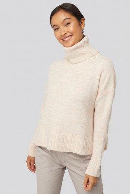 Trendyol Trendyol Turtleneck Knitted Sweater - Offwhite