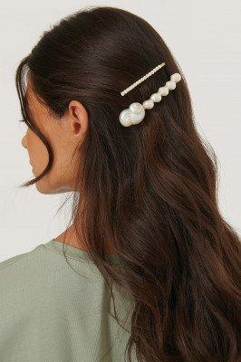 Mango MANGO Petunia Hairclip - White