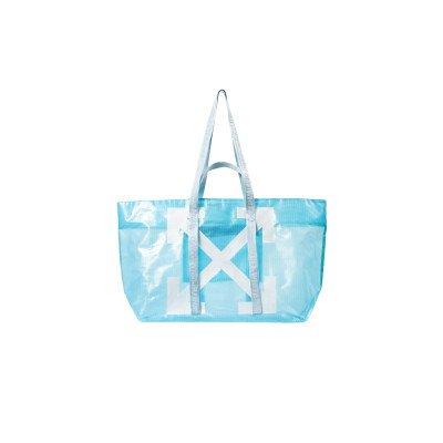 Off-White Off-White Logo Arrows Tote PVC Blue (2020)