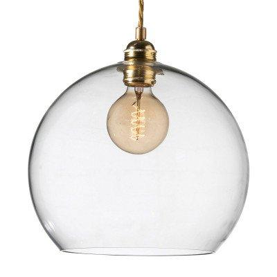 Ebb & Flow EBB & FLOW Rowan hanglamp helder glas, goud Ø 28cm