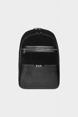 BALR. Sorrento Leather/Suede Backpack Jet