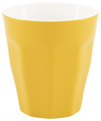 HEMA Mok - 250 Ml - Mirabeau Mat - Geel (Yellow)