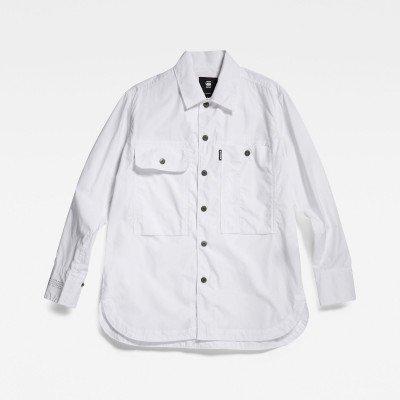 G-Star RAW Boyfriend shirt - Wit - Dames