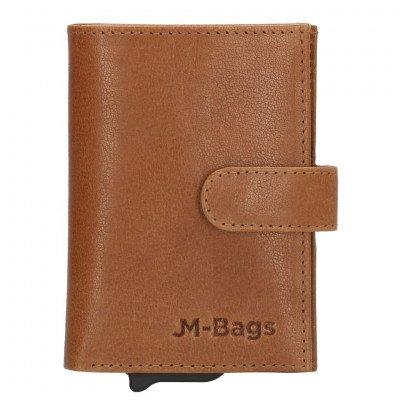 JM Bags JM Bags Dublin Pasjeshouder Cognac