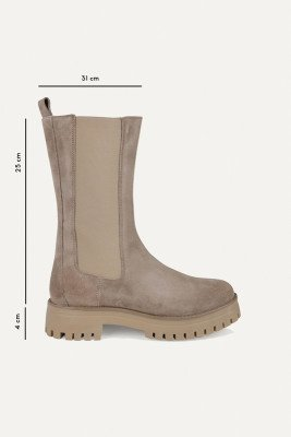 Shoecolate Shoecolate Chelsea boot Taupe 8.20.08.277