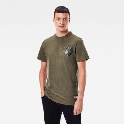 G-Star RAW GS Raw Hammer T-Shirt - Groen - Heren