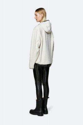 Rains Rains Dames Fleece Pullover - Off White