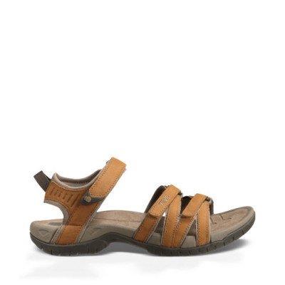Teva Teva Tirra Leather Sandalen, Bruin voor Dames, Maat 40