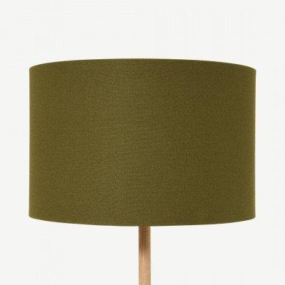 MADE.COM Emblyn lampenkap, 45 cm, groentinten