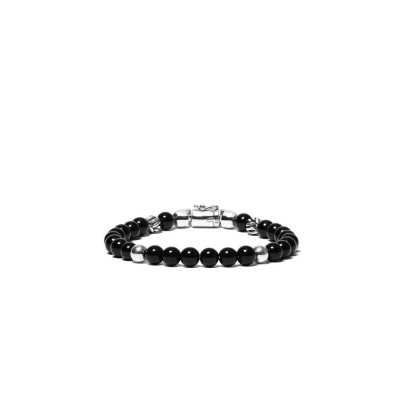 Buddha to Buddha Buddha to Buddha Armband Spirit Bead Mini Onyx
