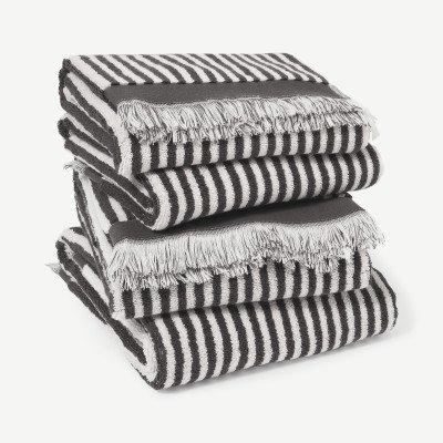 MADE.COM Kees set van 4 handdoeken
