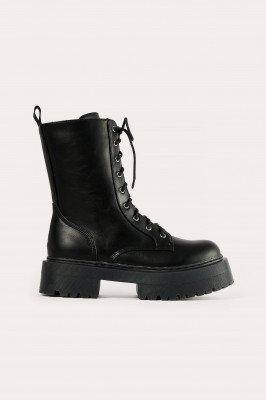 NA-KD Shoes NA-KD Shoes Laarzen - Black