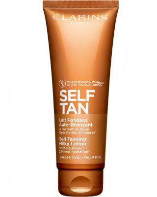 Clarins Clarins Self Tanning Milky Lotion Face Body Clarins - Self Tanning Milky Lotion Face Body SELF TANNING MILKY LOTION FACE & BODY