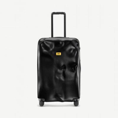 MADE.COM Crash Baggage Icon koffer, groot, zwart