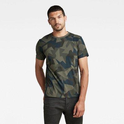 G-Star RAW Camo Round Neck T-Shirt - Meerkleurig - Heren