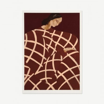 MADE.COM The Poster Club Waiting at Art et Metiers,, print door Sofia Lind, 50 x 70 cm
