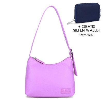 Daniel Silfen Daniel Silfen Handbag Ulla Nylon Light Purple