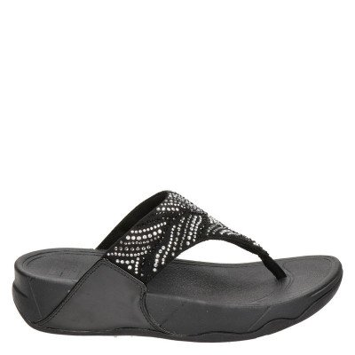 FitFlop Fitflop Lulu Crystal Feather slippers