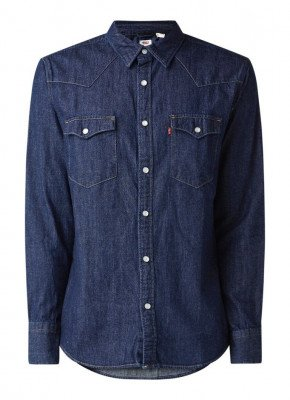 Levi's Levi's Barstow Western regular fit denim overhemd