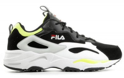 FILA FILA Ray Tracer Zwart/Wit/Geel Herensneakers