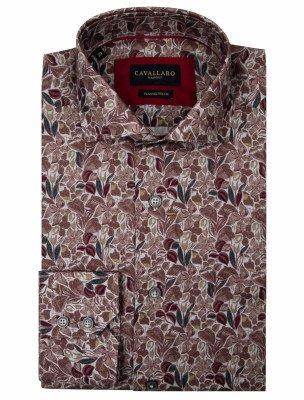 Cavallaro Napoli Cavallaro Napoli Heren Overhemd - Armando Overhemd - Grijs