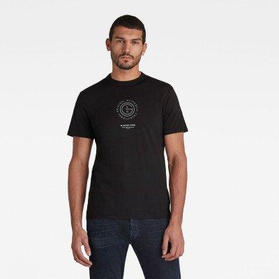 G-Star RAW G-Star Reflective Multi Graphic T-Shirt - Zwart - Heren