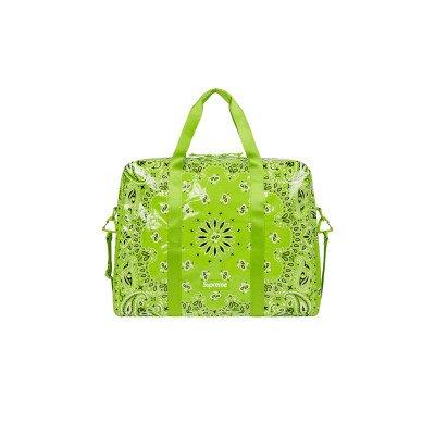 Supreme Supreme Bandana Tarp Large Duffle Bag Lime (SS21)