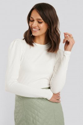 Sisters Point Sisters Point Perle LS Top - White