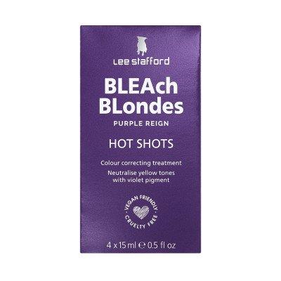 Lee Stafford Lee Stafford Purple Reign Blonde Hot Shot Sachets Haarmasker 100ml