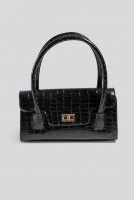 NA-KD Accessories NA-KD Accessories Wide Short Shoulder Bag - Black