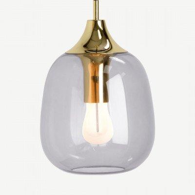 MADE.COM Temple hanglamp met 002 Plumen LED lamp, messing
