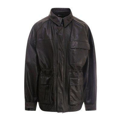 Balenciaga Cinched-waist jacket