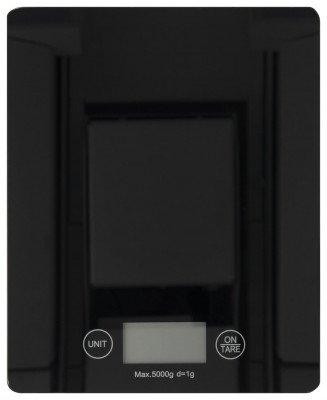 HEMA Digitale Keukenweegschaal - 16.5 X 20.5 - Zwart (zwart)