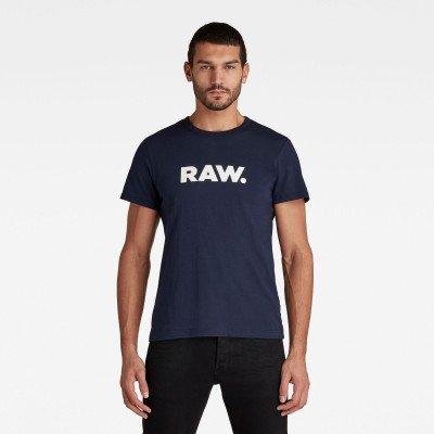 G-Star RAW Holorn T-Shirt - Donkerblauw - Heren