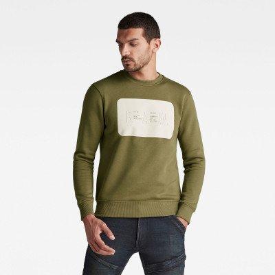 G-Star RAW RAW. Dubbellaagse sweater - Groen - Heren