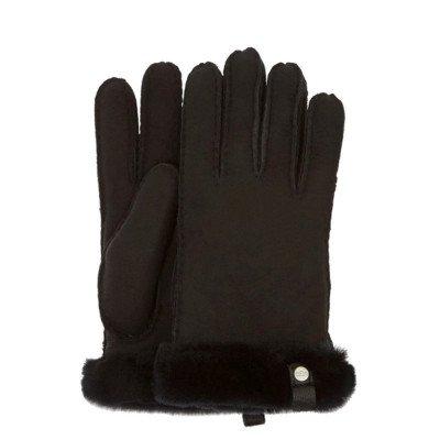 UGG UGG Shorty Glove Zwart Dames Handschoenen