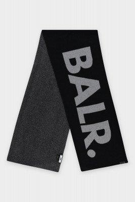 BALR. Jacquard Scarf Knit Jet