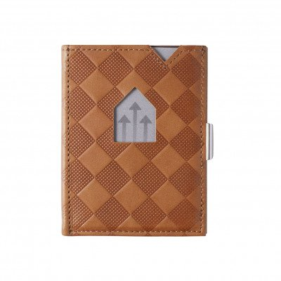 Exentri Exentri Leather Wallet Sand Chess