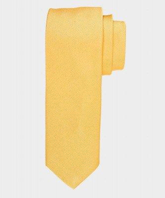 Michaelis Michaelis heren zijden stropdas geel