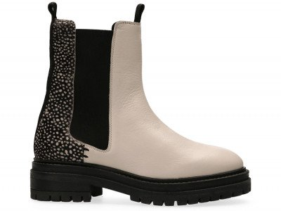 Maruti Bay Chelsea Boots Pixel Wit