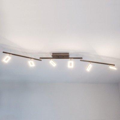 PAUL NEUHAUS LED plafondlamp Inigo met zes lichtbronnen